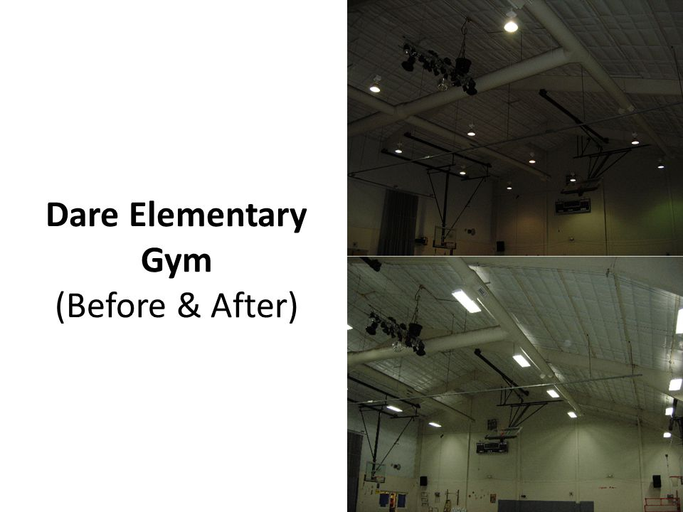 Dare Elementary Gym (Before & After)