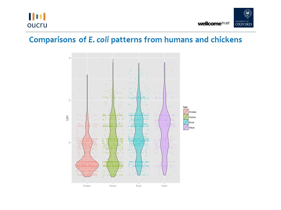 DistancesNo.calculationsMedian [75% IQR] Chicken vs.