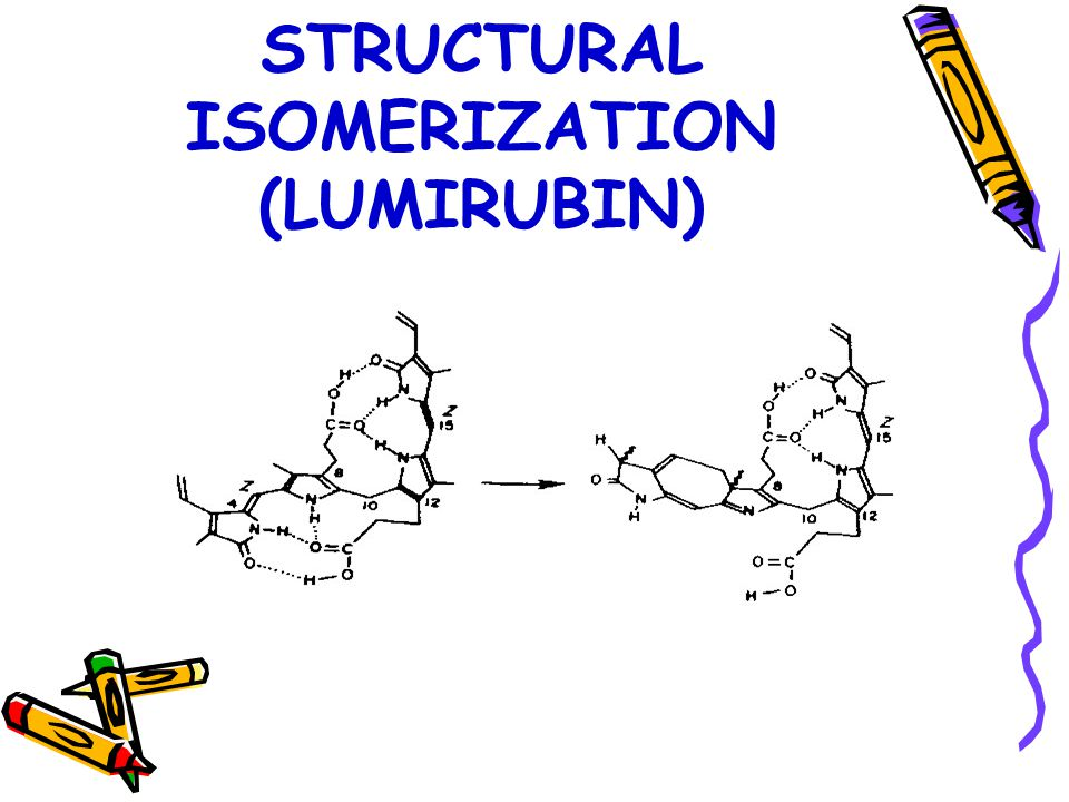 STRUCTURAL ISOMERIZATION (LUMIRUBIN)