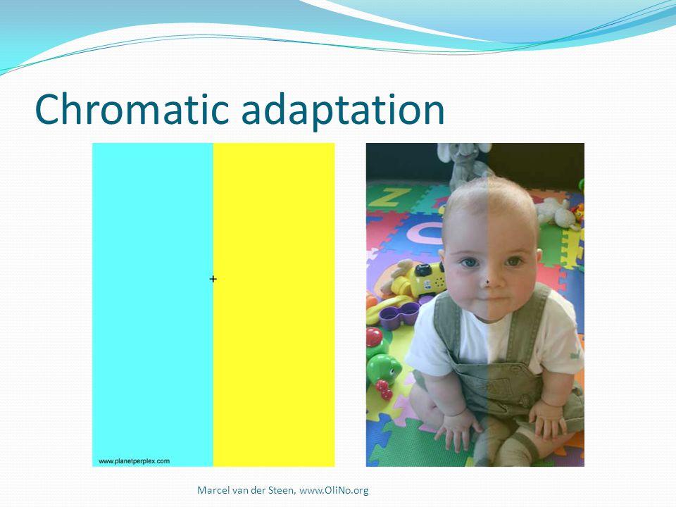 Chromatic adaptation Marcel van der Steen, www.OliNo.org