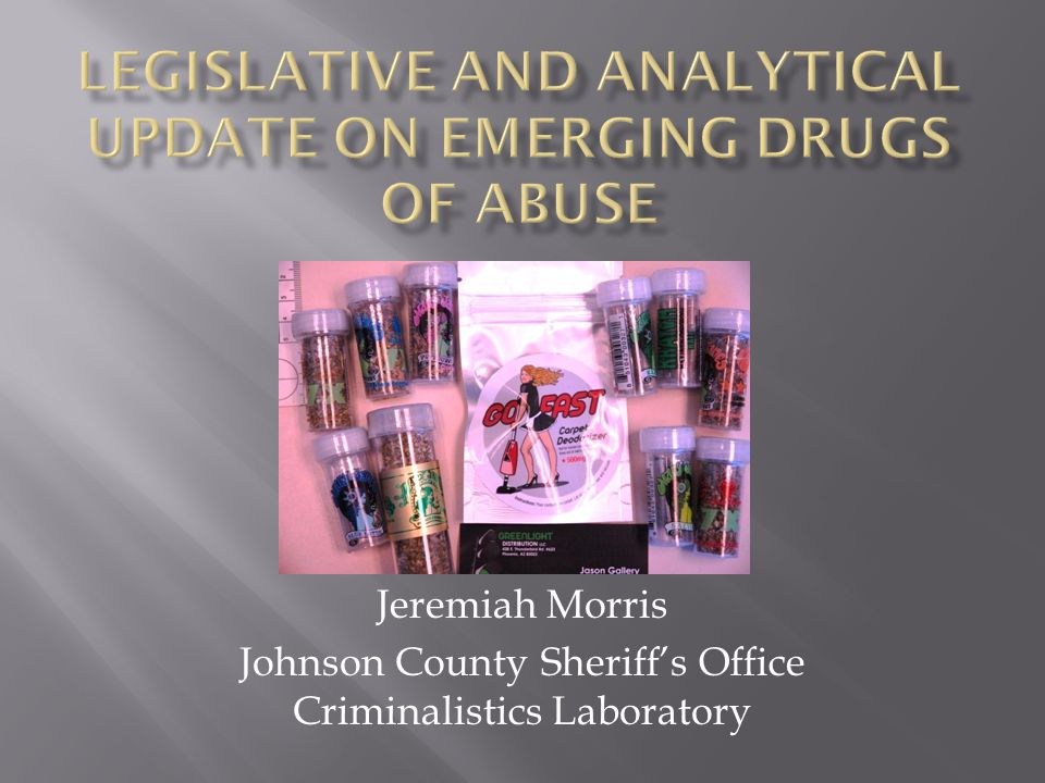 Jeremiah Morris Johnson County Sheriff's Office Criminalistics Laboratory