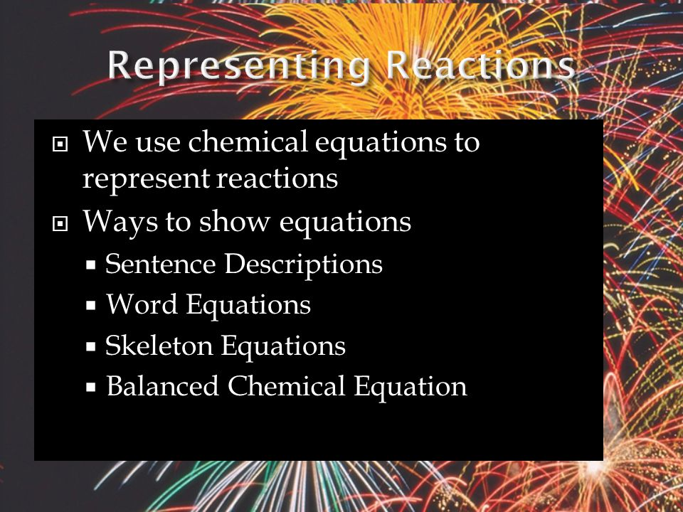  The only things left in the equation are those things that change (i.e., react) during the course of the reaction.