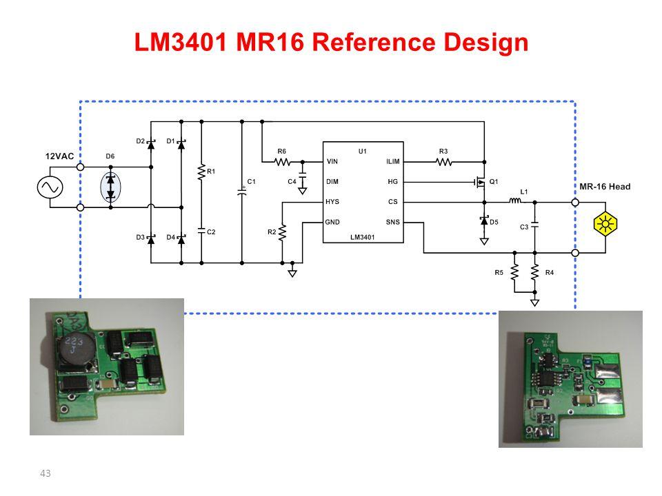 LM3401 MR16 Reference Design 43