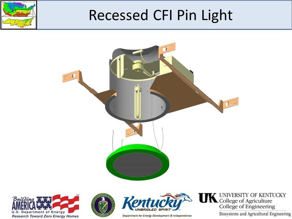 Recessed CFI Pin Light