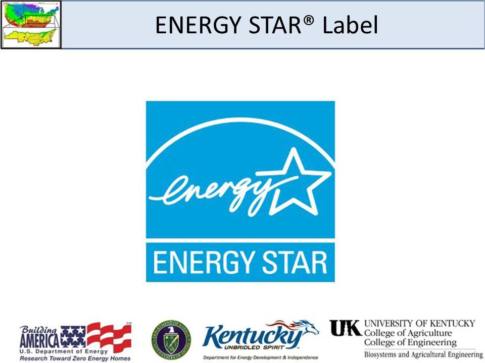 ENERGY STAR® Label