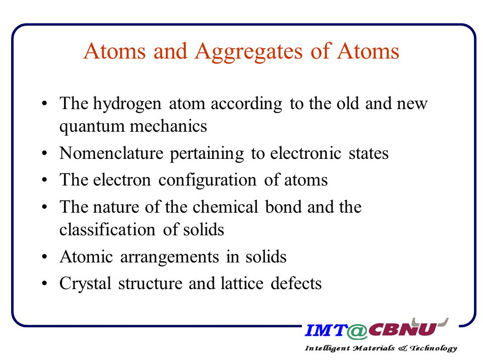 Electron configuration of atoms and periodic table of elements Pauli exclusion principle A given quantum state determined by three quantum numbers n,l,m l can be occupied by not more than two electrons Chemical properties of atoms are determined mainly by the outer electron configuration - Transition elements - Alkali metal - Halogen group - Rare gas