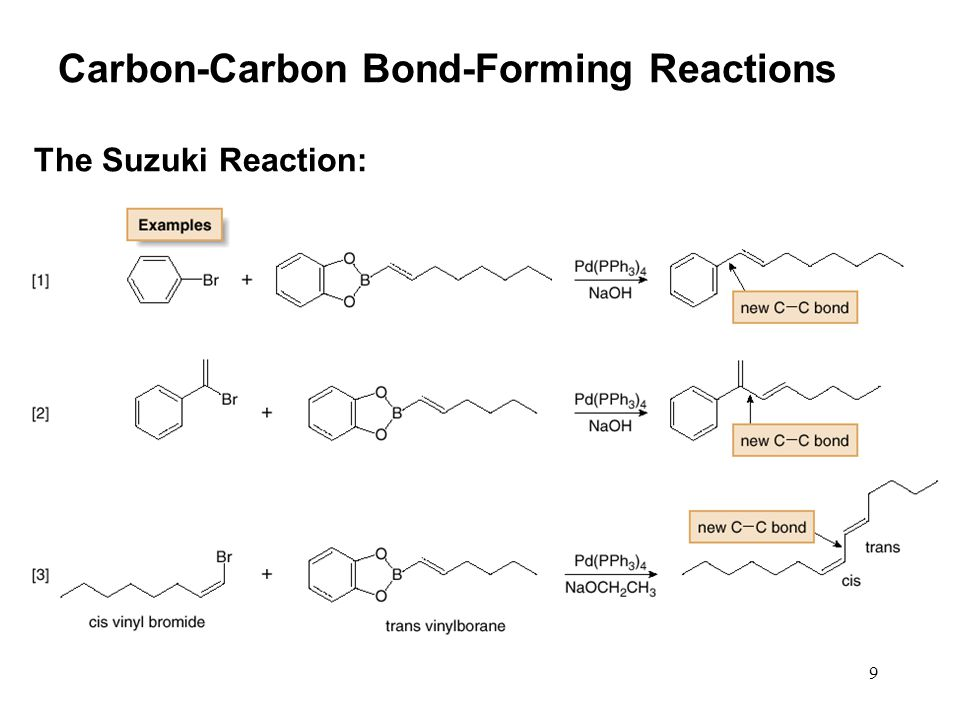 10 Vinylboranes, which have a boron atom bonded to a carbon—carbon double bond, are prepared by hydroboration using catecholborane, a commercially available reagent.