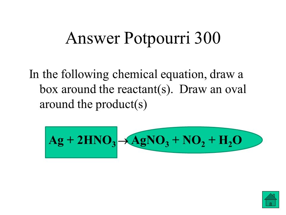 Answer Potpourri 300