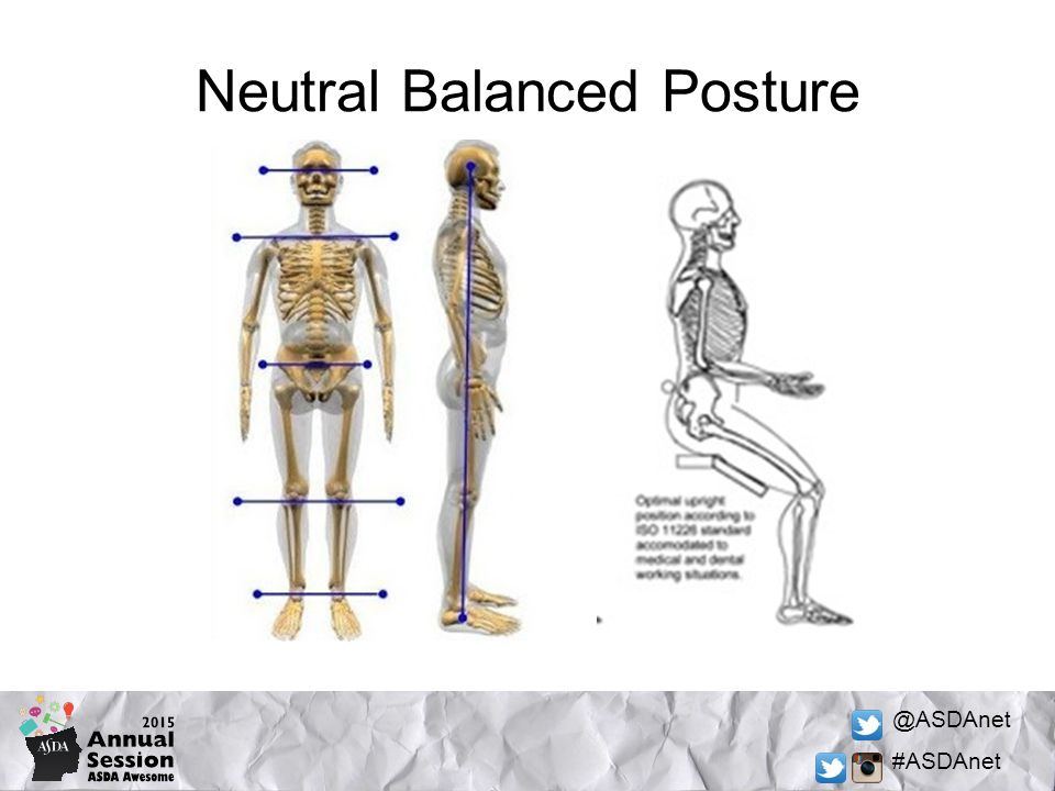 @ASDAnet #ASDAnet Neutral Balanced Posture