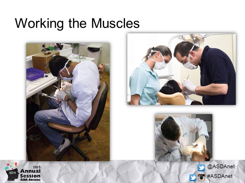 @ASDAnet #ASDAnet Working the Muscles