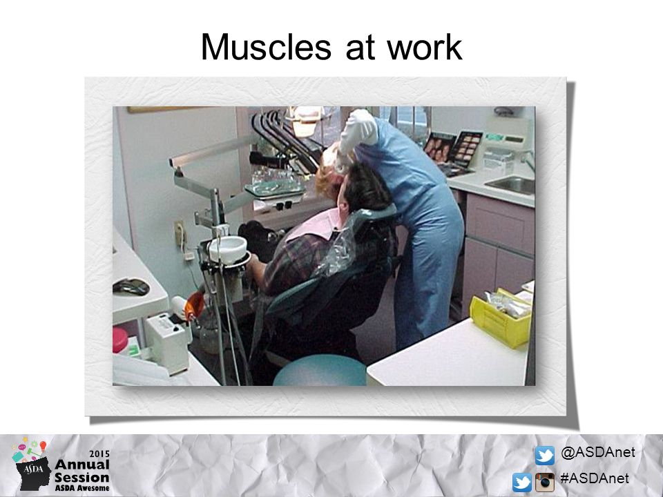 @ASDAnet #ASDAnet Muscles at work
