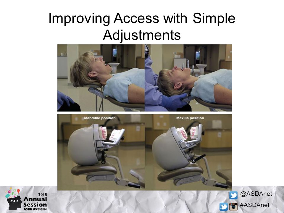 @ASDAnet #ASDAnet Improving Access with Simple Adjustments