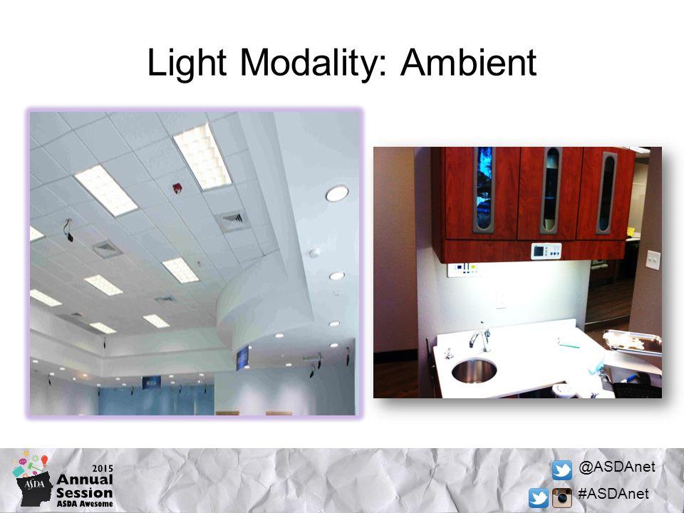 @ASDAnet #ASDAnet Light Modality: Ambient