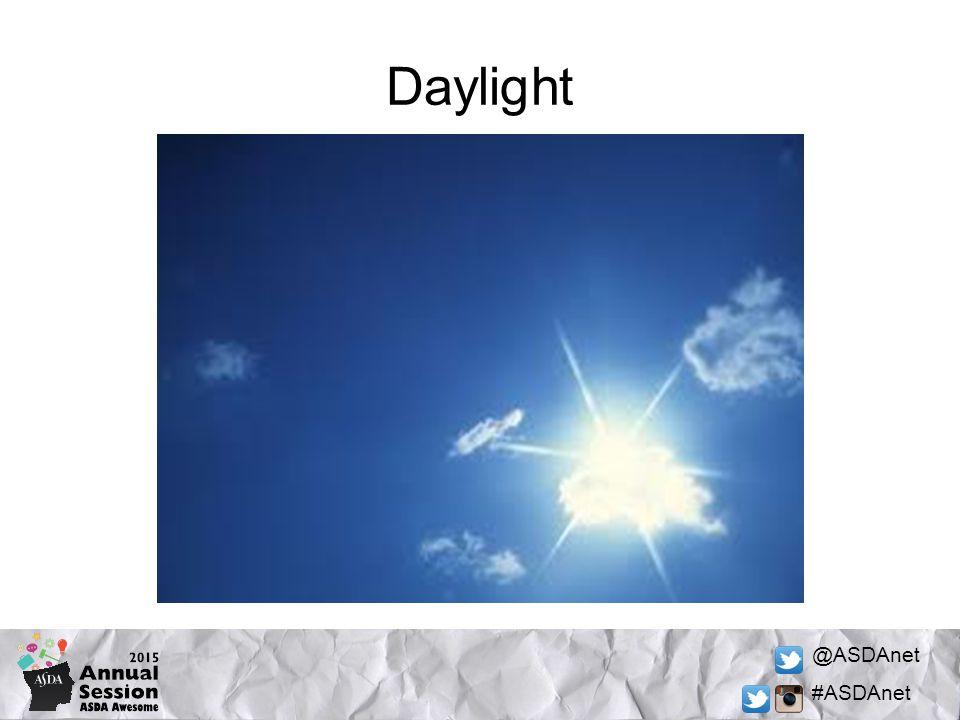 @ASDAnet #ASDAnet Daylight