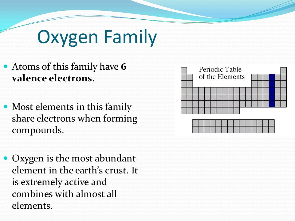 Nitrogen Family The nitrogen family is named after the element that makes up 78% of our atmosphere.