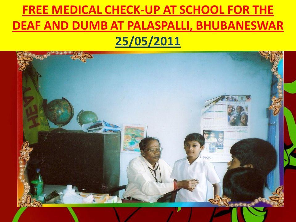 MEDICAL CAMP AT ICCHAPUR, JAGATSINGHPUR 05/05/2011  ICCHAPUR IS IN DISTRICT JAGATSINGHPUR AROUND 85KMS FROM BHUBANESWAR. PRIMARY OCCUPATION IS FARMIN