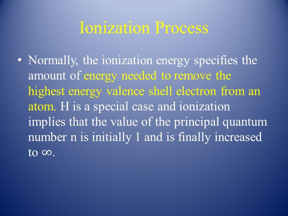 Slide 5 of 35 Ionization Energy Mg(g) → Mg + (g) + e - I 1 = 738 kJ Mg + (g) → Mg 2+ (g) + e - I 2 = 1451 kJ Copyright © 2011 Pearson Canada Inc.