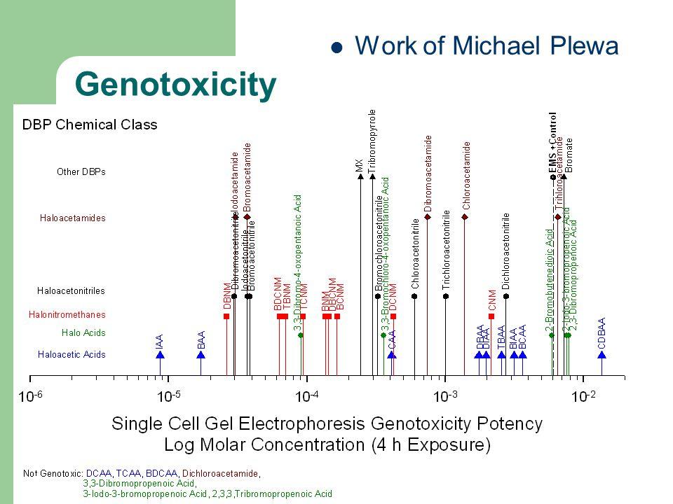 Work of Michael Plewa 44 Genotoxicity