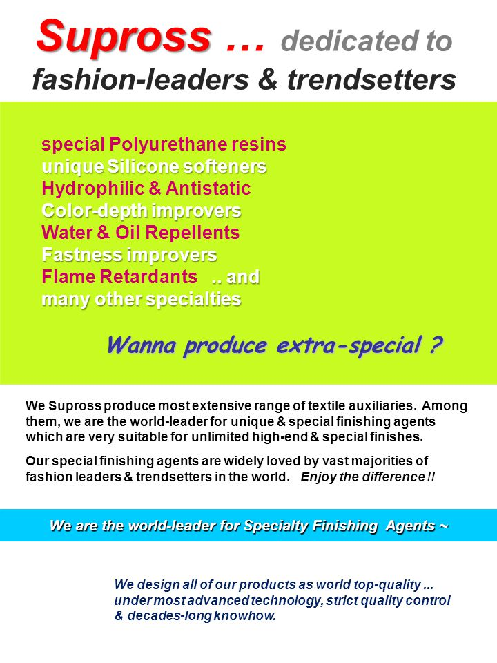 We Supross don't supply classic silicone softeners.