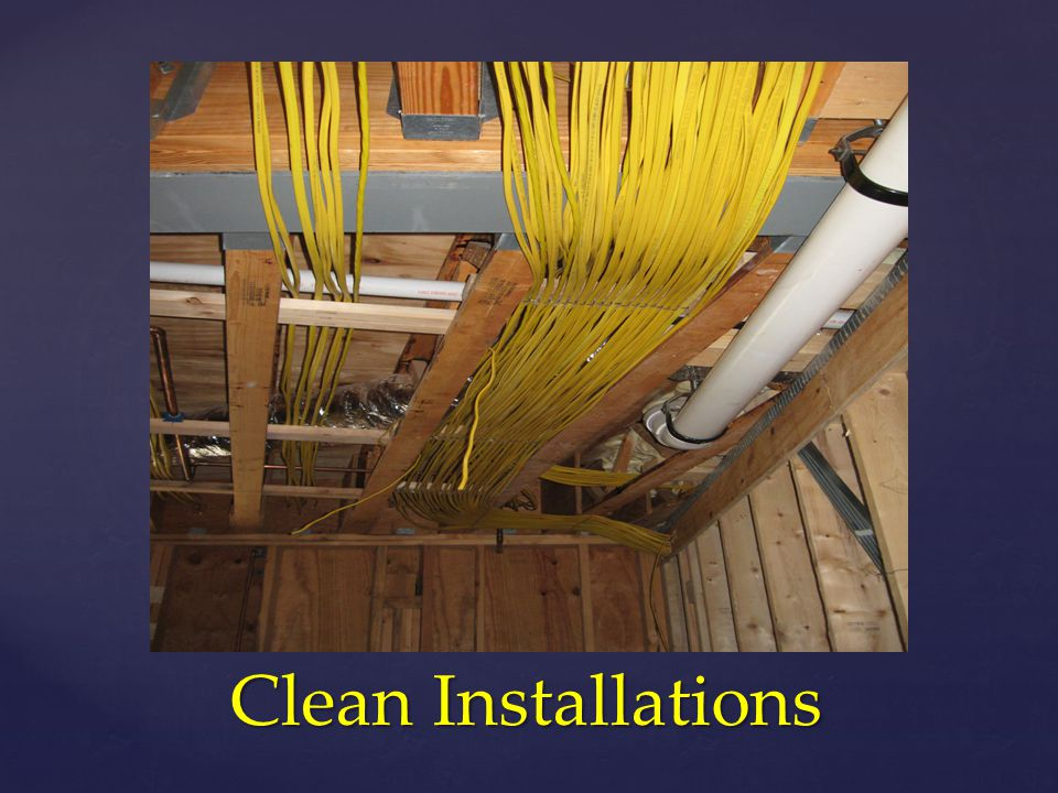 Clean Installations