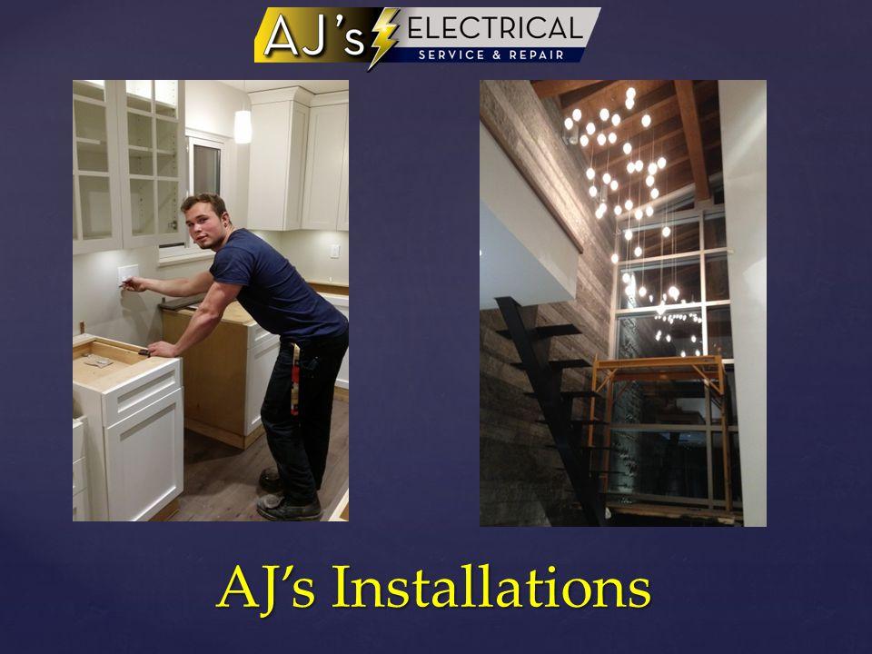 AJ's Installations