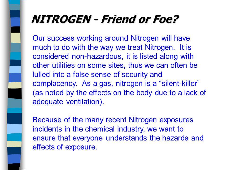 NITROGEN - Friend or Foe.