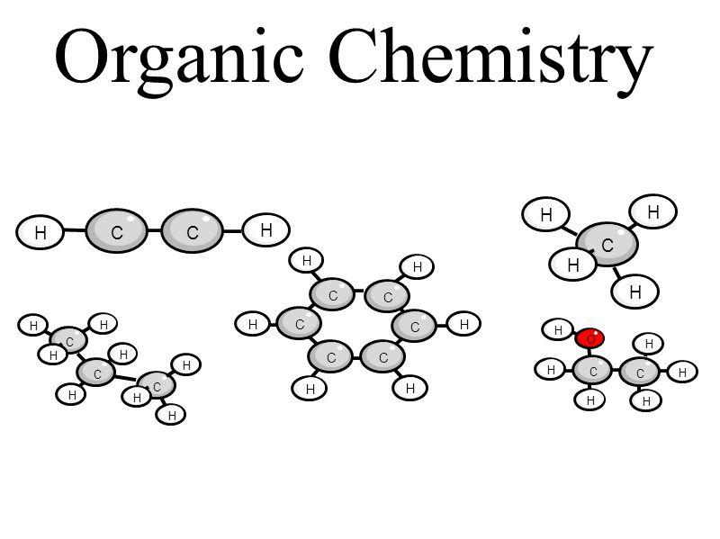 Organic Chemistry HCC H C C C CC C H H H H H H H O H H H H H C C C H H H H C C C H H H H H H H H