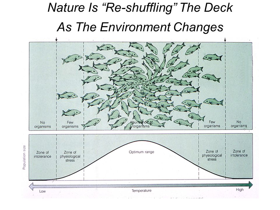 Nature Is Re-shuffling The Deck As The Environment Changes
