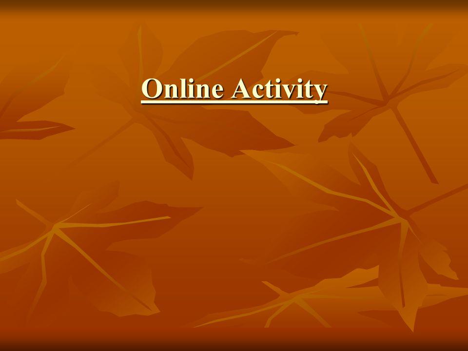 Online Activity Online Activity