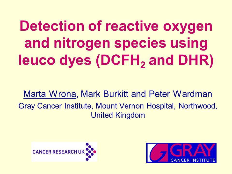 Brief history of the early use of DCFH 2 How the use of DCFH 2 and DHR was introduced into cellular systems for the detection of ROS Recent and current research on the chemistry underling the use of DCFH 2 and DHR in biological systems Practical guidelines to the use of DCFH 2 and DHR in biological systems Overview