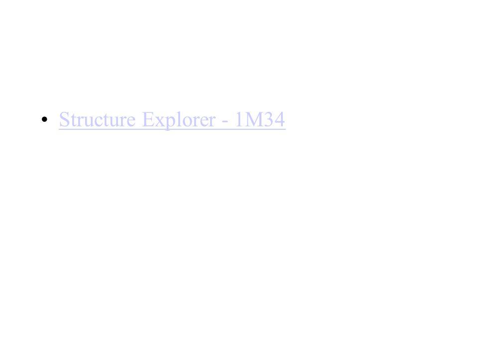 Structure Explorer - 1M34