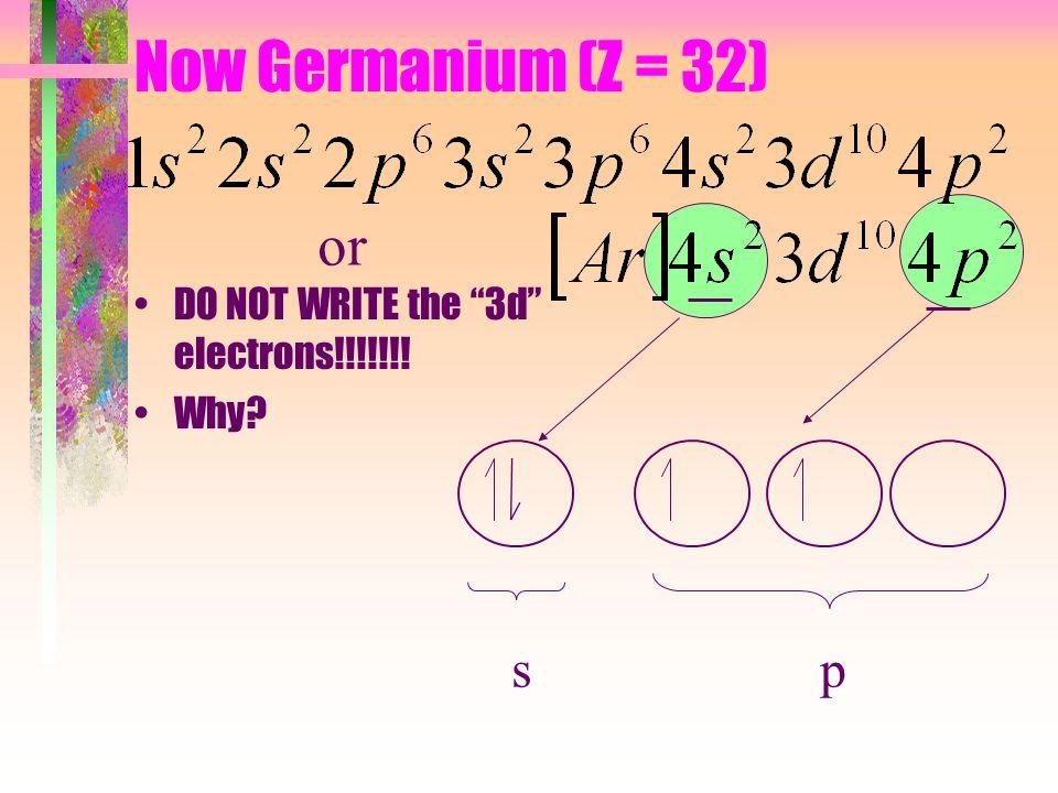 Try Fluorine (Z = 9)