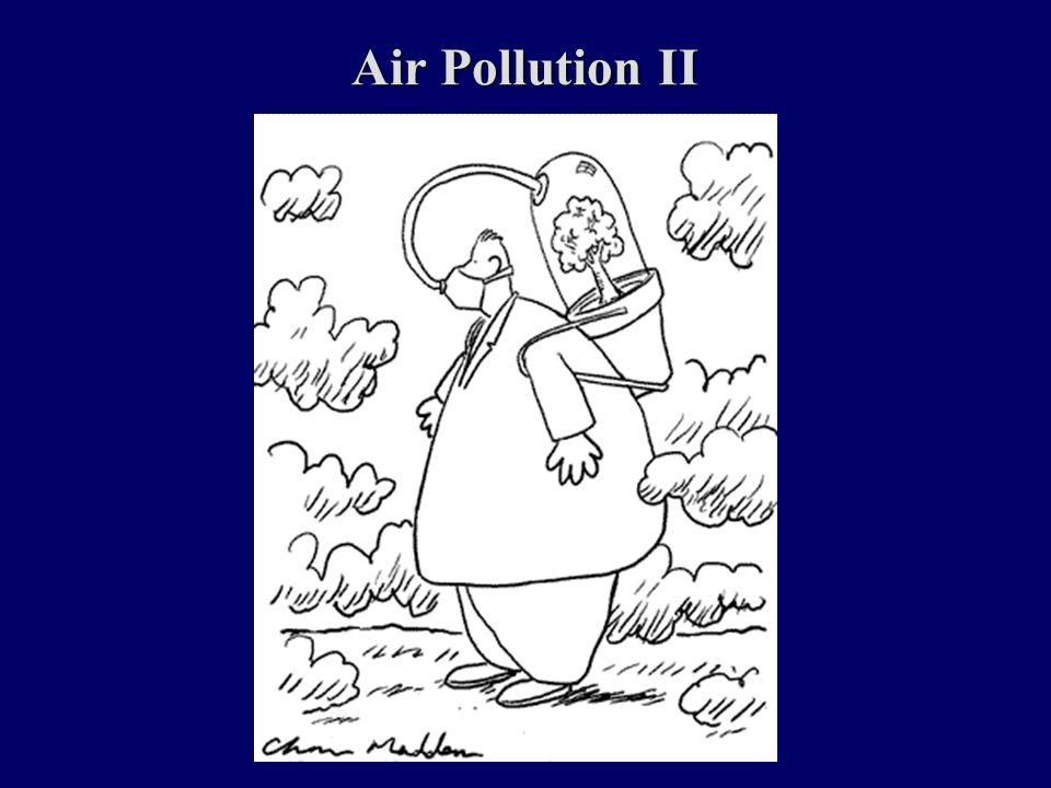 Air Pollution II