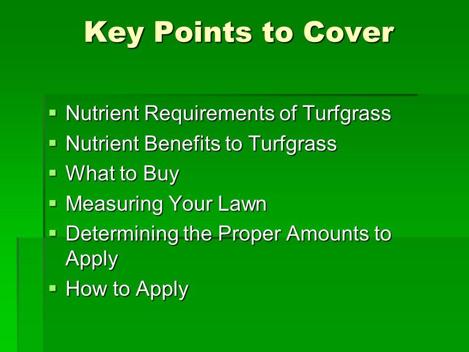 Lawn Establishment Seeding  Seeding in the fall is optimum.