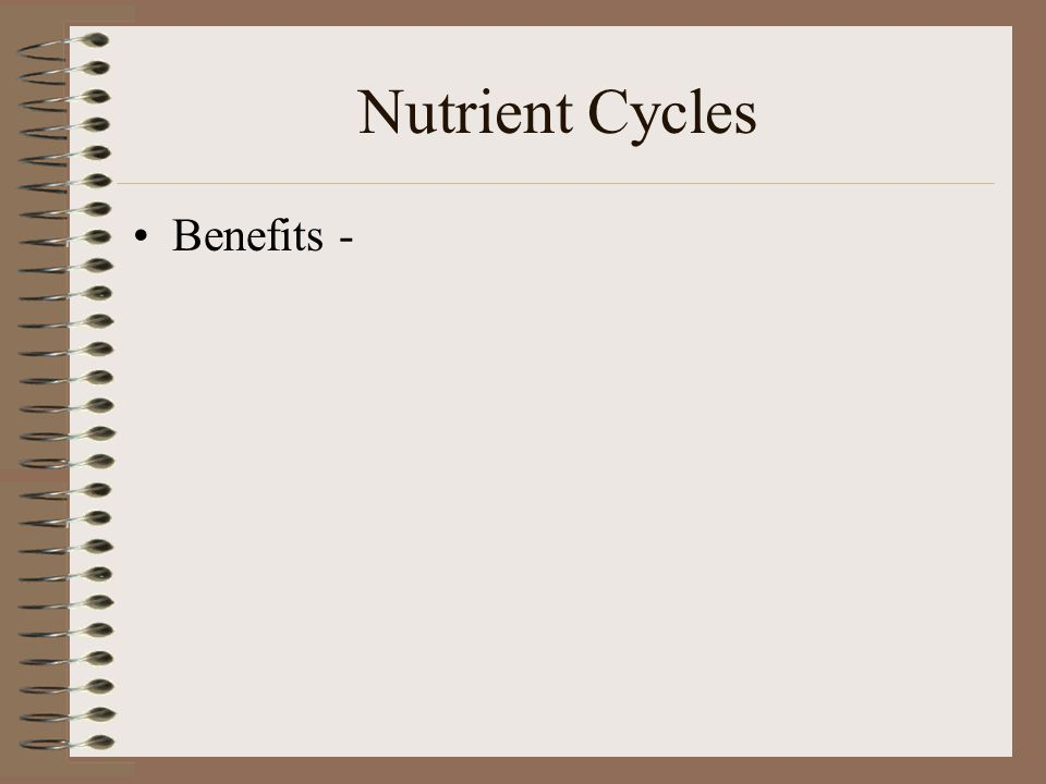 Benefits -