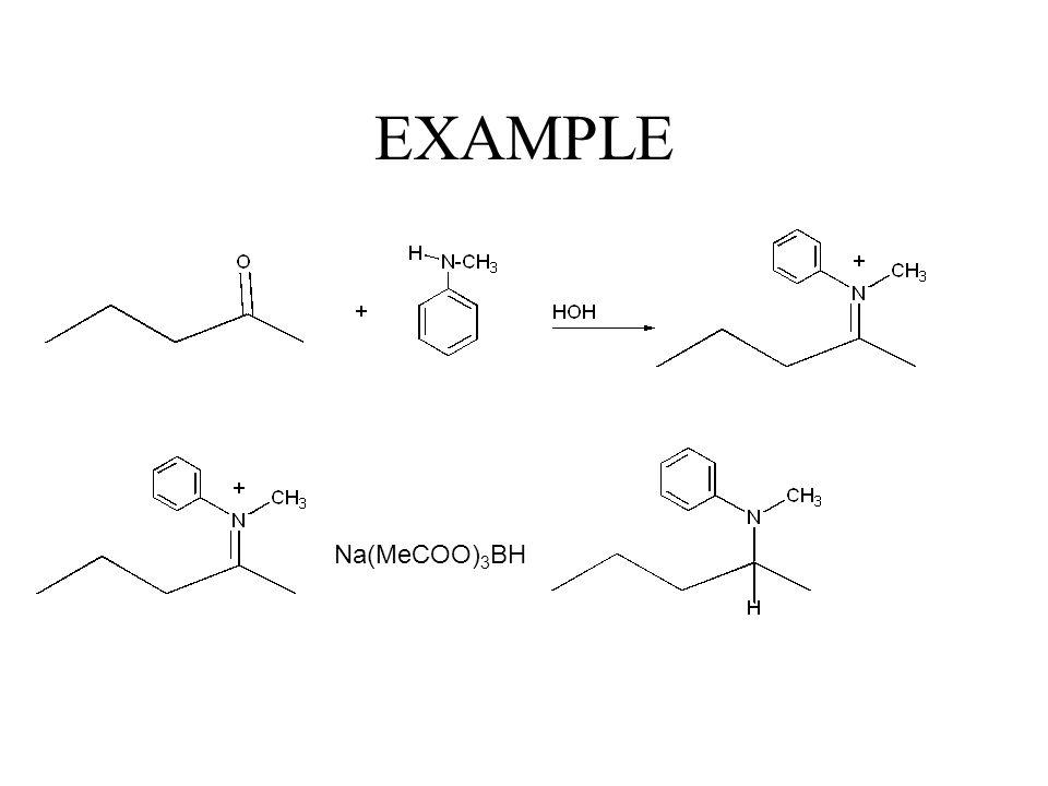 Mechanism of iminium salts -H 2 O