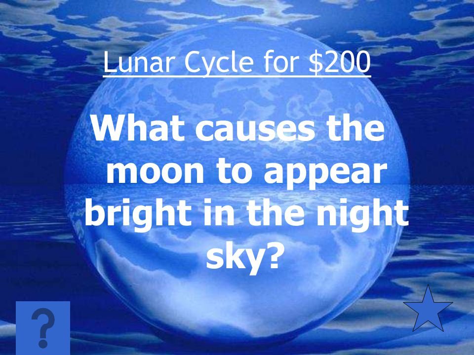 Lunar Cycle for $100 Gravity