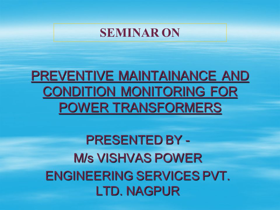 INDICATIONS  Shift in response of winding  Differences in response between phases of same transformer.