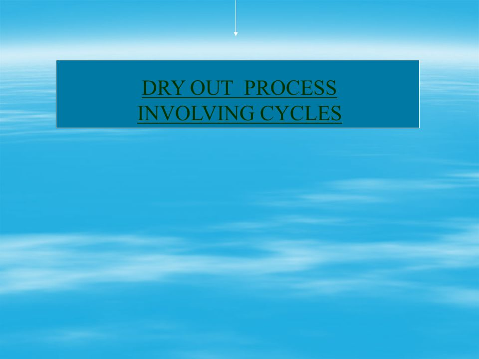 Vacuum drying Vacuum drying is based on the principle of Thermodynamics Boiling point of moisture in insulation is reduced by way of Pressure Reductio