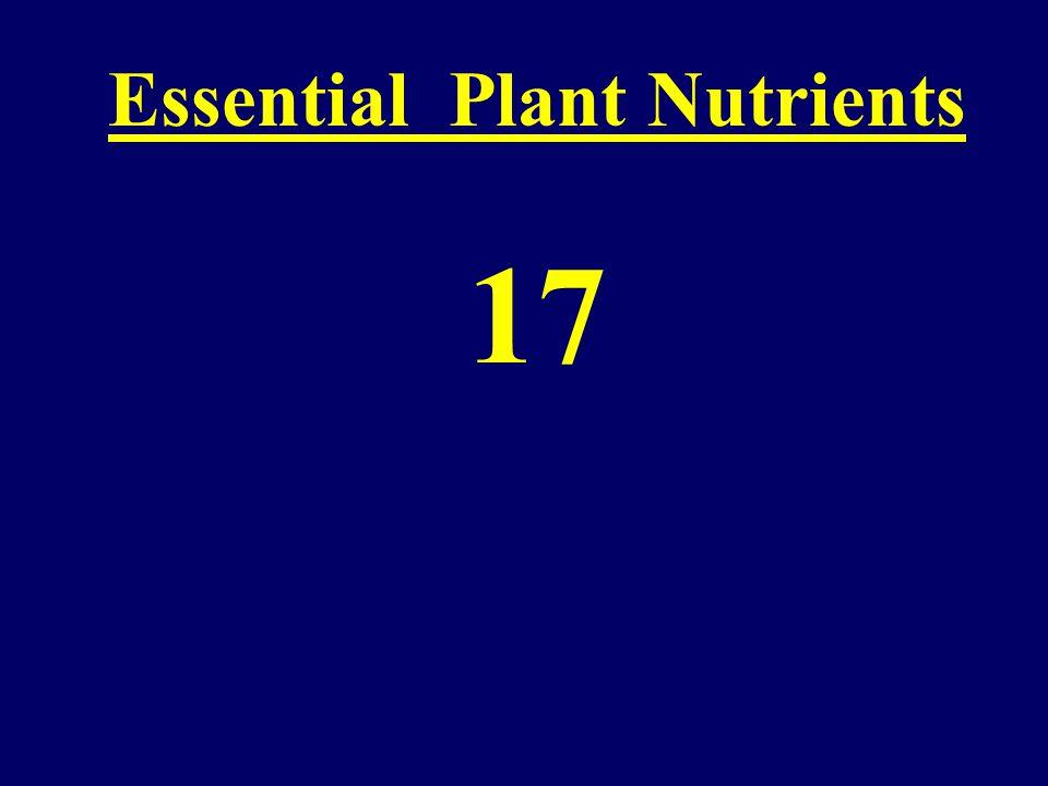 Reduction of Plant Diseases Using Nutrients Fertilizer Labels-A Foreign Language Jerald E.