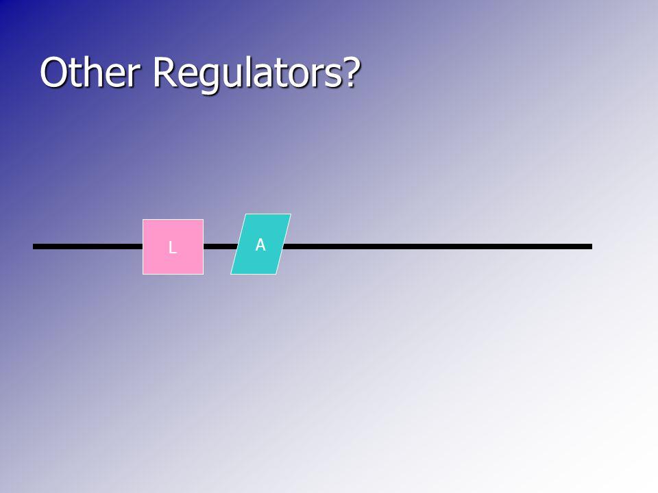 L Other Regulators? A