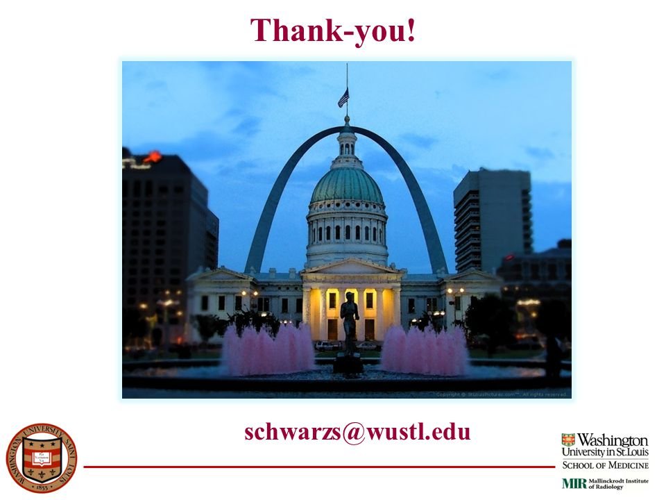 Thank-you! schwarzs@wustl.edu