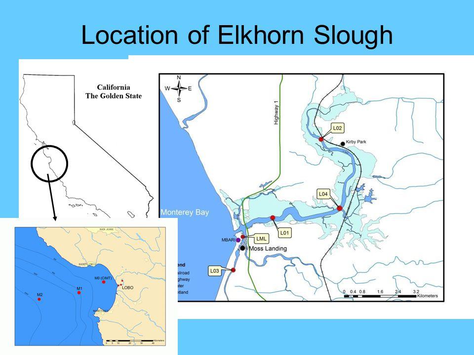 Location of Elkhorn Slough