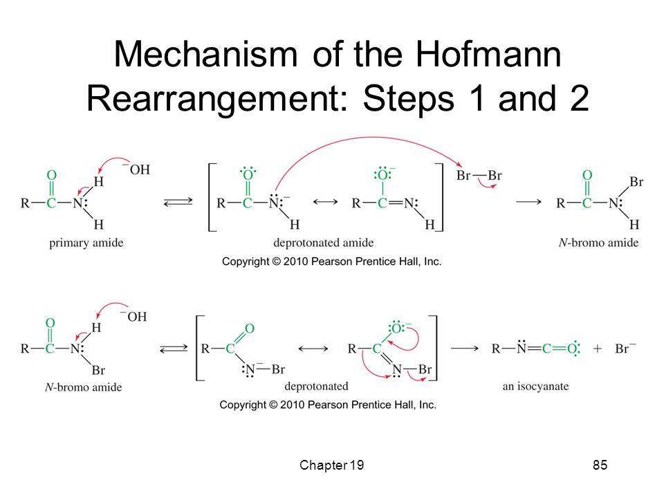 Chapter 1985 Mechanism of the Hofmann Rearrangement: Steps 1 and 2