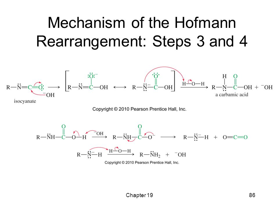 Chapter 1986 Mechanism of the Hofmann Rearrangement: Steps 3 and 4