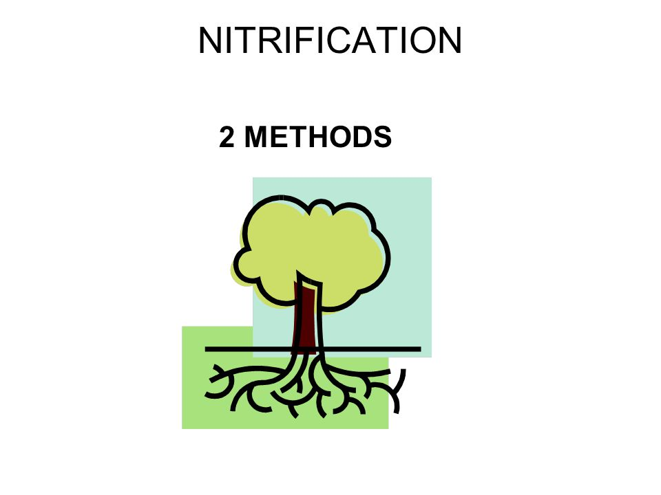 NITRIFICATION 2 METHODS