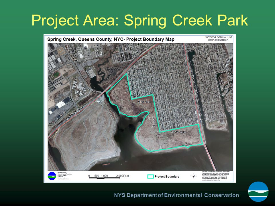 NYS Department of Environmental Conservation Project Area: Spring Creek Park