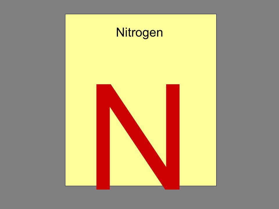 N Nitrogen