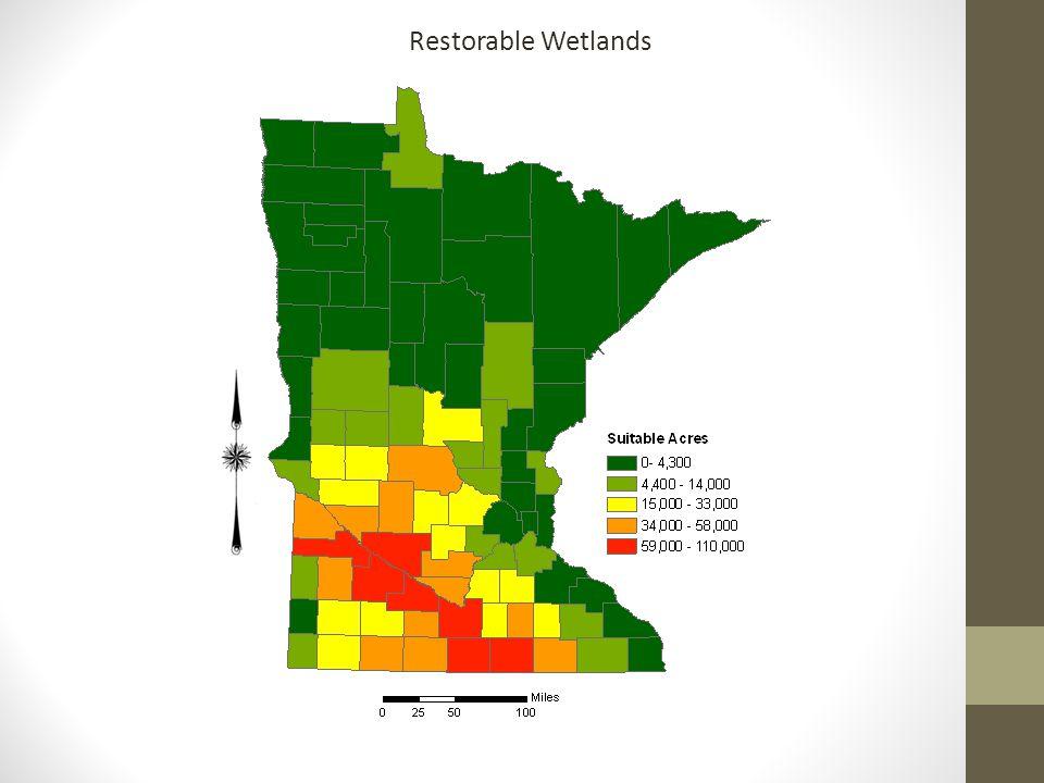 Restorable Wetlands