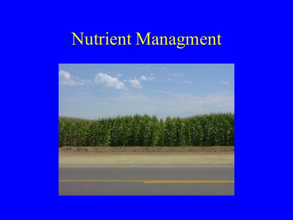 Nutrient Managment